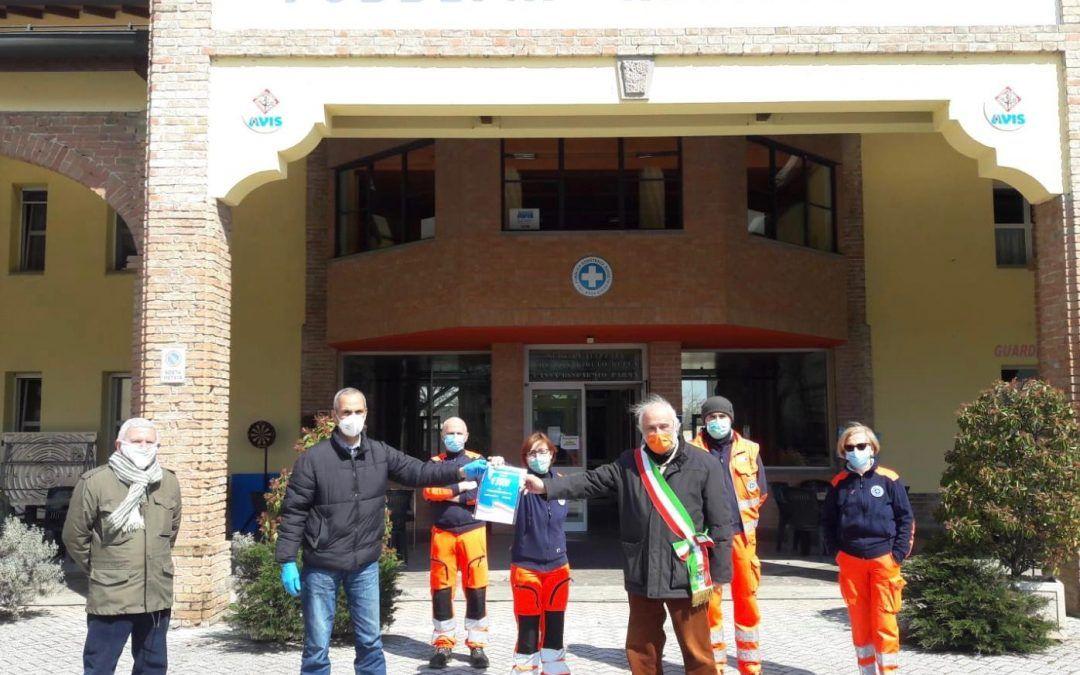 Busseto, la comunità islamica dona 3mila euro alla pubblica assistenza